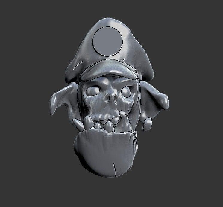 fad643d042f805acf3556af017edc31b_display_large.jpg Download free STL file Miniature - Ork Heads (Heroic Scale) (2016) • 3D printing object, whackolantern