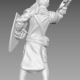 Knight_2.png Download free STL file Miniature - Knight 1 (2017) • 3D print model, whackolantern