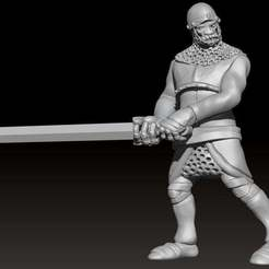 562766409e8c7789791d450823972599_display_large.jpg Download free STL file Miniature - Human Soldier 2 (2017) • 3D printing design, whackolantern