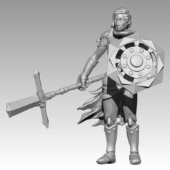 ea37ace8b4de833a7e55eea73c213c51_display_large.jpg Download free STL file Miniature - Sir Percival (2017) • 3D printing model, whackolantern