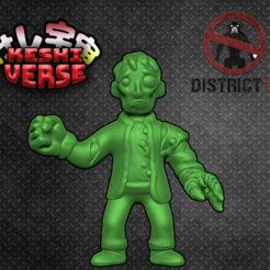 wikus.png Download free STL file Keshiverse - Wikus (District 9) • Design to 3D print, whackolantern