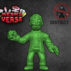 wikus.png Télécharger fichier STL gratuit Keshiverse - Wikus (District 9) • Plan pour imprimante 3D, whackolantern