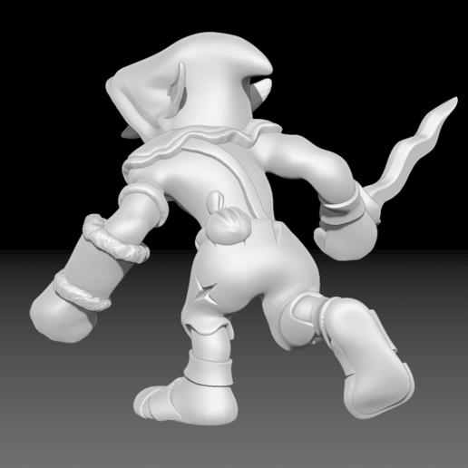 MURDY2.png Télécharger fichier STL gratuit Miniature - Murdy le Bouffon • Objet pour impression 3D, whackolantern