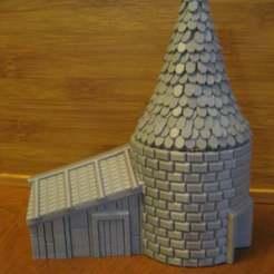 Download free 3D printer designs VMT - Village: Silo, GarinC3D