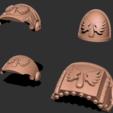 1.png Download free STL file Winged Opals - Marine Upgrade Pack • 3D printer model, GarinC3D
