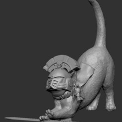 Download free 3D printing designs Cat- oooooohhhh- Sicarius, GarinC3D