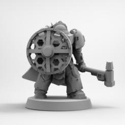 Impresiones 3D gratis Hermano de batalla - Comandante, GarinC3D
