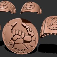 Download free 3D printer designs Hammers of Dorn - Marine Upgrade Pack, GarinC3D