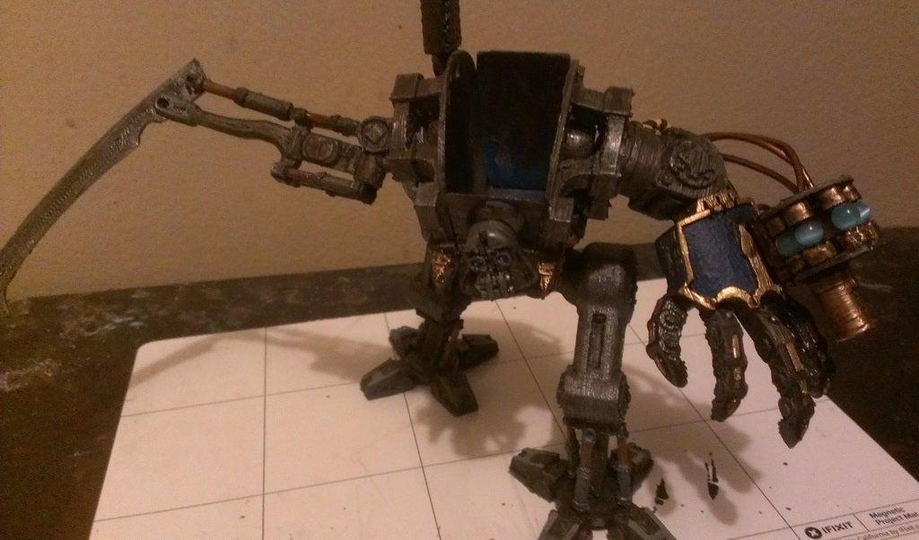 a_1_display_large.jpg Download free STL file Imperial Crusader Mech - New Weapons • 3D printer model, GarinC3D