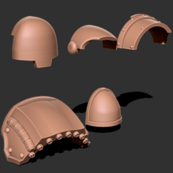 Download free 3D printing files Blank sections of Armor, GarinC3D