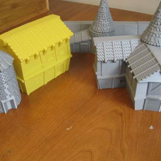Télécharger objet 3D gratuit VMT - Village : Maisons 1, GarinC3D