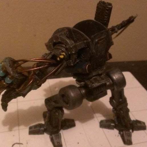 a_2_display_large.jpg Download free STL file Imperial Crusader Mech - New Weapons • 3D printer model, GarinC3D