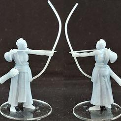 Télécharger plan imprimante 3D gatuit 1-54 - Archer humain 1, GarinC3D