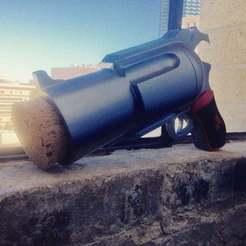 Download free 3D printing designs Harley Quinn Pop Gun, LeftBrainCo