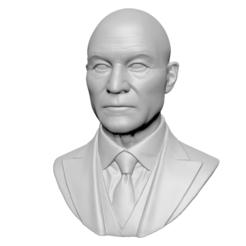 Télécharger fichier impression 3D Charles Xavier Professeur X, mochawhale