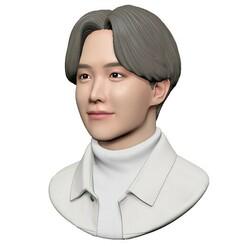 2.jpg Download OBJ file BTS J-Hope • 3D print model, mochawhale