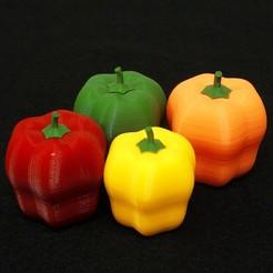 paprika1.jpg Télécharger fichier OBJ Paprika (poivron) • Design imprimable en 3D, mochawhale