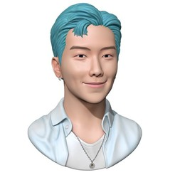 2.jpg Download OBJ file BTS RM • Model to 3D print, mochawhale