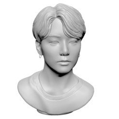 Download 3D printing designs BTS Jungkook, mochawhale
