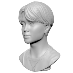 Download 3D printing files BTS Jimin, mochawhale