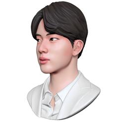 Download OBJ file BTS Jin • Template to 3D print, mochawhale