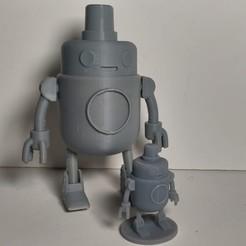 Download free 3D printer model H.U.E. from Final Space, CubWiFi