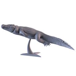 001.png Download STL file Crocodile • 3D printer object, AleexStudios_2019