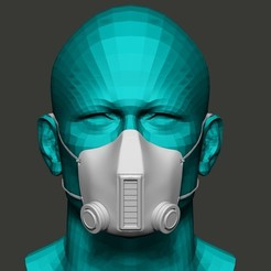 Download free 3D printer files Mask, AleexStudios_2019