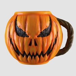 H01.png Download STL file Mug Halloween • 3D printer object, AleexStudios_2019