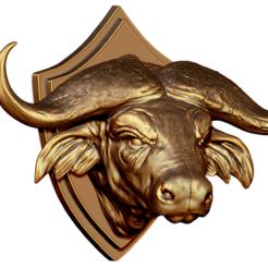 Download 3D model Head Buffalo model, AleexStudios_2019