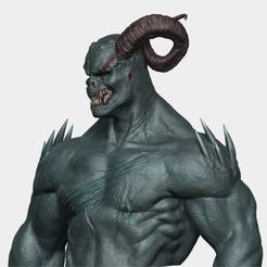 Download 3D printer designs Demon Bust, AleexStudios_2019