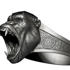 001.jpg Download OBJ file Gorilla Jewelry • Model to 3D print, AleexStudios_2019