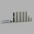 Download 3D printing models Aragorn Ranger Sword, Dsema