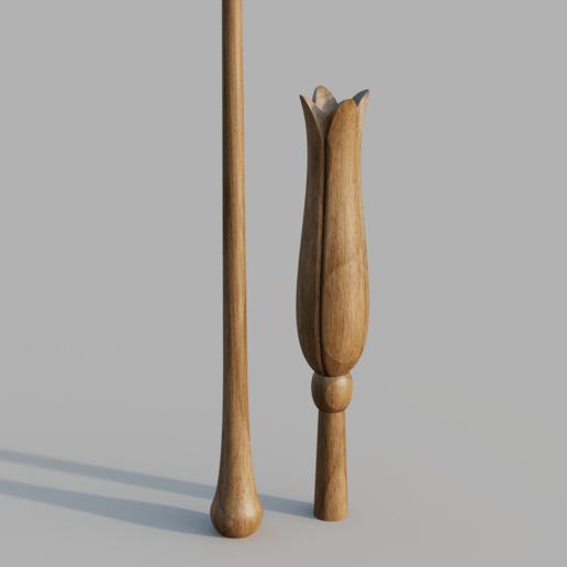 Download 3D printing designs LUNA LOVEGOOD WAND, Dsema