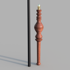 1.png Download STL file MINERVA MCGONAGALL WAND • 3D printing object, Dsema