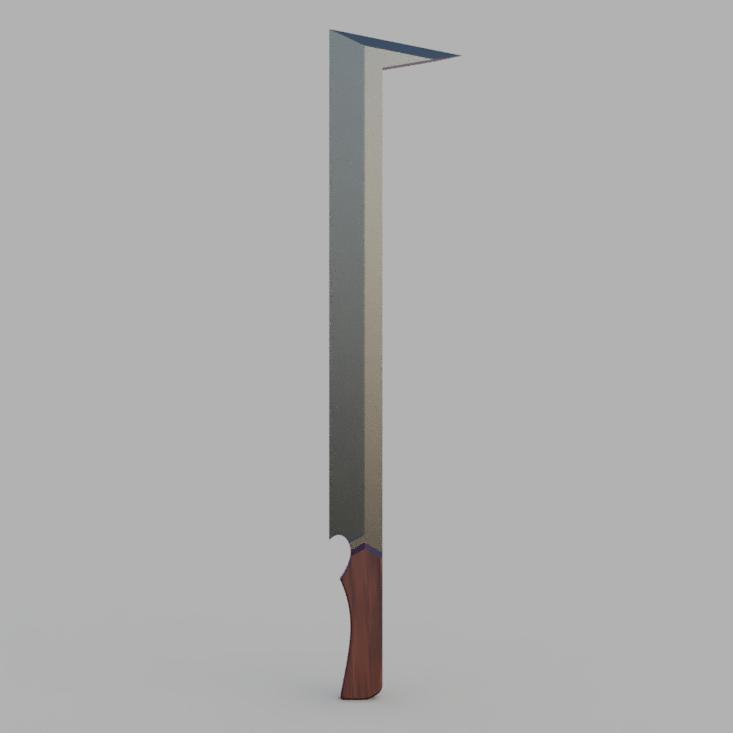 download stl file uruk hai sword 3d printable design cults uruk hai sword