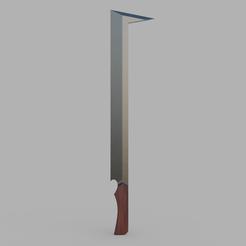 Télécharger plan imprimante 3D L'épée d'Uruk Hai, Dsema