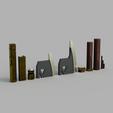 Download STL files Battle Axe of Gimli, Dsema