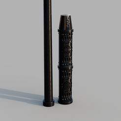 a385e7d4-8725-44e3-a75f-a1939daa5866.PNG Download STL file SEVERUS SNAPE WAND • Template to 3D print, Dsema