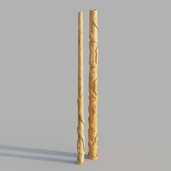 80406a34-1b61-4f68-9725-4e3a1be46c80.PNG Download STL file HERMIONE GRANGER WAND • Object to 3D print, Dsema