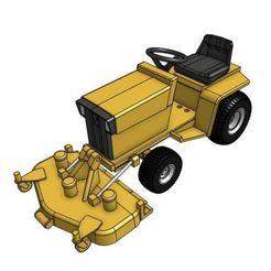 Descargar modelos 3D para imprimir GT7S 1/25 Modelo de tractor de jardín, goodsons_hobbies