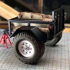 Descargar modelo 3D gratis GH Scaler Trailer - Defensas cuadradas, goodsons_hobbies