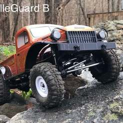 Download free 3D printing models Grille and Radiator (Multiple Styles) for Proline Power Wagon, goodsons_hobbies
