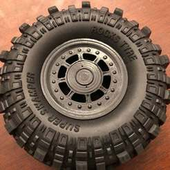 "Descargar diseños 3D gratis Goodson's Hobbies 1.9 Beadlock Wheel 04 - ""Alpha H1"", goodsons_hobbies"
