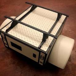 Descargar diseños 3D gratis GH Scaler Trailer - Overland Utility Box Top con Racking, goodsons_hobbies