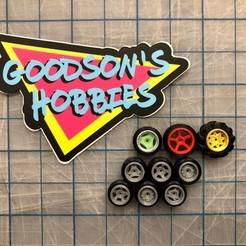 Descargar archivos STL gratis 1/64 Surtido de ruedas pequeñas Hotwheels o Diecast, goodsons_hobbies
