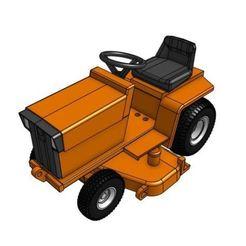 Descargar archivo 3D Modelo de tractor de jardín GT7L 1/25, goodsons_hobbies