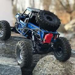 Descargar modelo 3D gratis Losi Night Crawler SE Soporte para llantas de repuesto, goodsons_hobbies