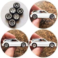 Download free 3D printing templates Work Equip Inspired 1:64 Hotwheels Diecast Wheels, goodsons_hobbies