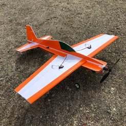 Descargar STL gratis Soporte de motor de espuma de perfil cruzado RC Plane Cross Profile, goodsons_hobbies